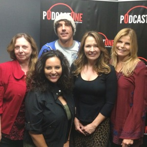 Mariel Hemingway and Booby Williams join Rebecca Fearing at Podcast One